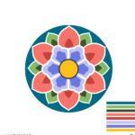 단청 문양 패턴 일러스트 ai 다운로드 download Dancheong pattern illustration