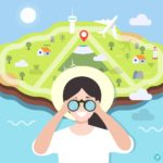제주도 탐험 일러스트 ai 다운로드 download Explore Jeju Island vector