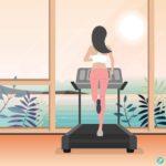 홈트레이닝 러닝머신 ai 다운로드 Download home training treadmill vector