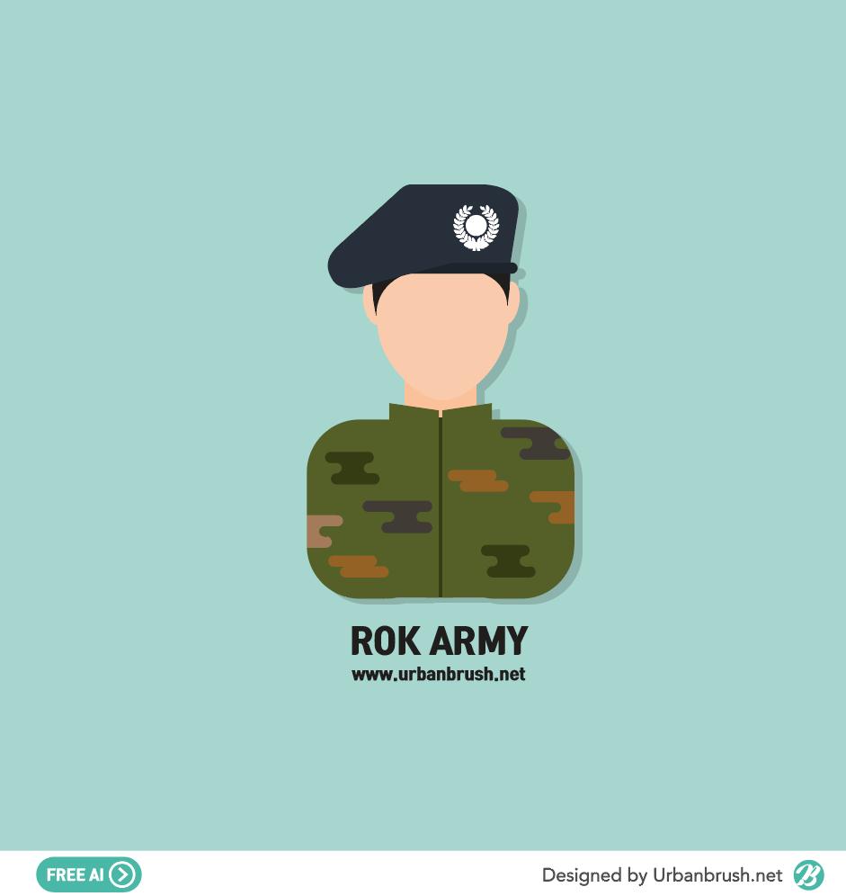 soldier ai illustration free vector download - Urbanbrush