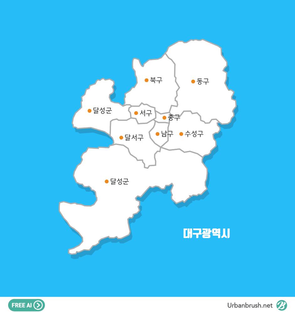 Daegu map ai file free download urbanbrush daegu map ai file free download gumiabroncs Images