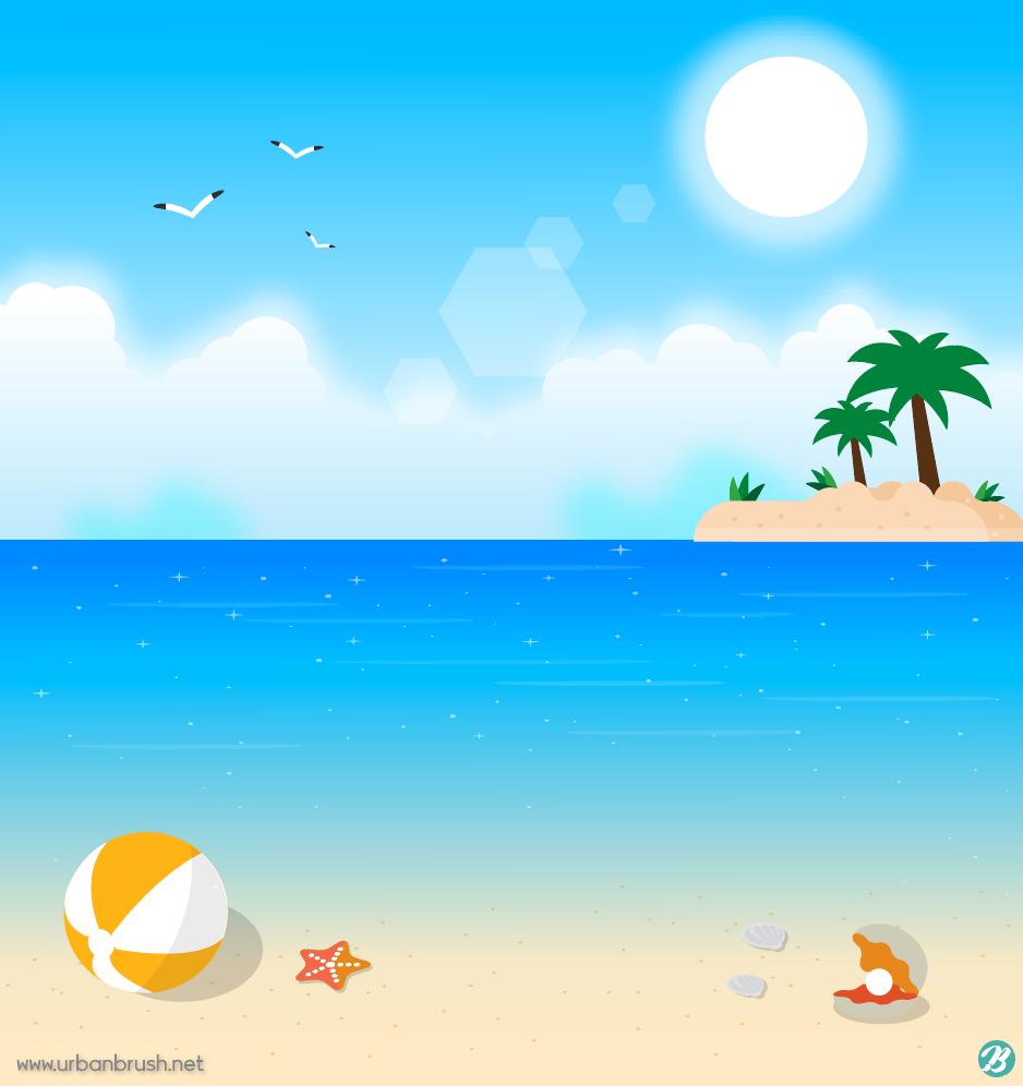 ubc14 ub2e4  uc77c ub7ec uc2a4 ud2b8 ai  ubb34 ub8cc ub2e4 uc6b4 ub85c ub4dc free beach vector download urbanbrush summer vector files summer vector files