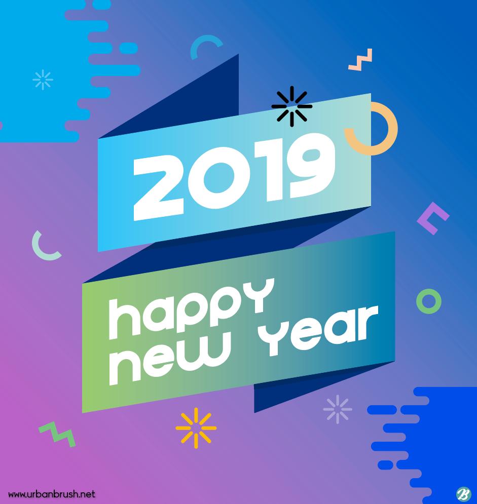 2019 로고 일러스트 Ai 무료다운로드 Free 2019 Logo