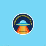 UFO 로고 일러스트 ai 무료다운로드 free UFO logo