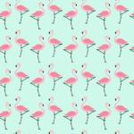 플라밍고 배경 일러스트 ai 무료다운로드 free Flamingo background