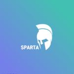 스파르타 투구 일러스트 ai 무료다운로드 free Spartan helmet logo