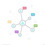네트워크 일러스트 ai 무료다운로드 free network image vector