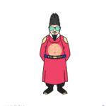 선글라스 세종대왕 일러스트 ai 무료다운로드 free King Sejong Sunglasses vector