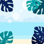 바다 배경 일러스트 ai 무료다운로드 free sea background vector
