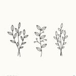 나뭇가지 일러스트 ai 무료다운로드 free branch vector