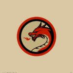 드래곤 로고 일러스트 ai 무료다운로드 free dragon logo