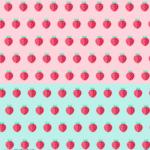 딸기 배경 일러스트 ai 무료다운로드 free Strawberry background vector