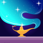 요술램프 일러스트 ai 무료다운로드 free Magic lamp download