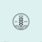 곡식 로고 일러스트 ai 무료다운로드 free Grain logo