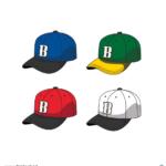 야구모자 일러스트 ai 무료다운로드 free Baseball cap vector