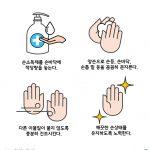 손소독제 사용법 일러스트 ai 무료다운로드 free How to use hand sanitizer vector